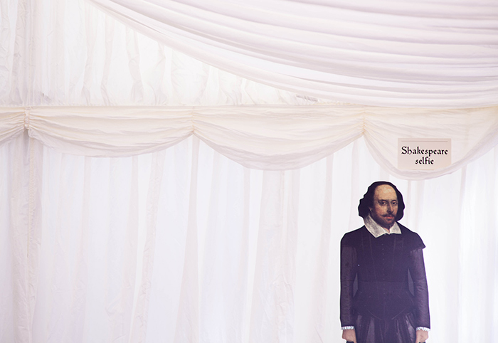 William Shakespeare cutout
